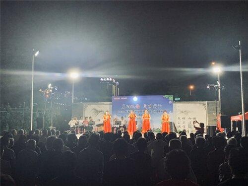 """娄桥街道开展""""美丽瓯海 文明同行""""主题文艺巡演活动"""