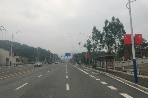 老104国道(社会福利院―鹅湖段)拓宽改造工程正式通车