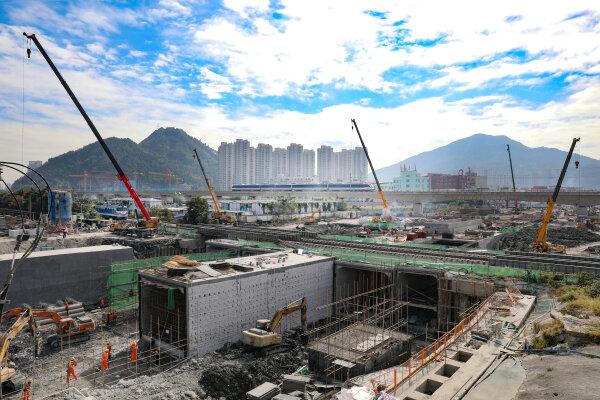 广化南路建设提速