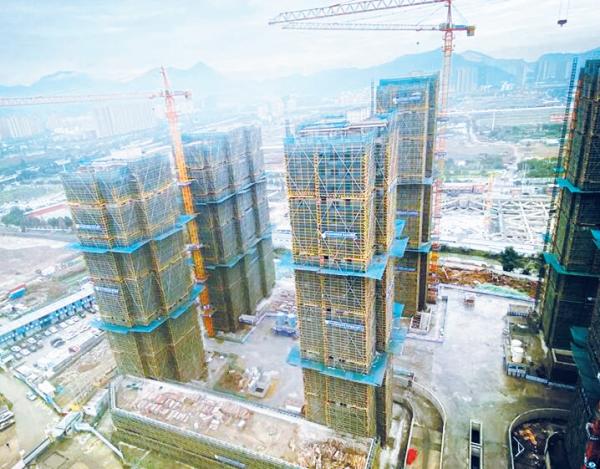"""加速拆迁村民""""归巢""""置业 浙南科技城又一安置房项目提前完成年度目标"""