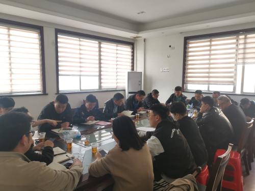 朝霞社区:召开免费疫苗接种工作部署会