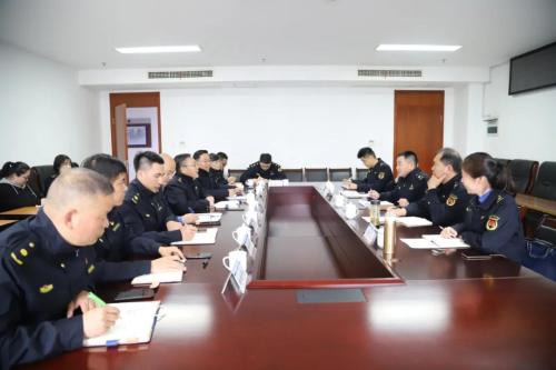 市综合行政执法局来瓯海区开展调研