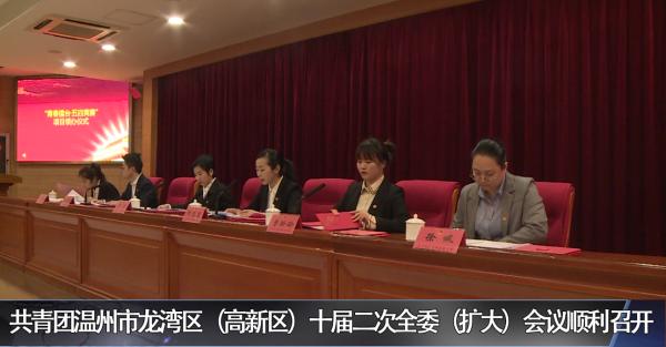 共青团温州市龙湾区(高新区)十届二次全委(扩大)会议顺利召开