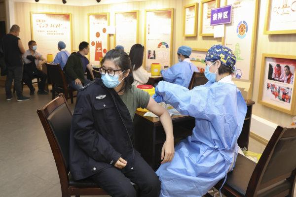 新冠疫苗集中接种