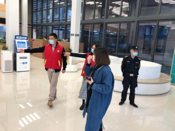 瓯海区征收服务中心积极参加区矛调中心志愿服务活动