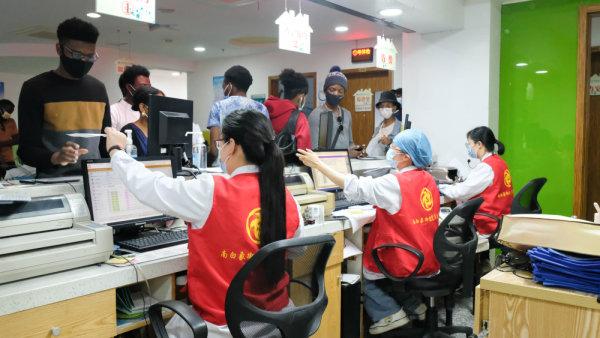 学党史办实事|瓯海南白象为200名留学生开设新冠疫苗接种专场